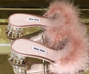 pink, fashion, and miu miu image