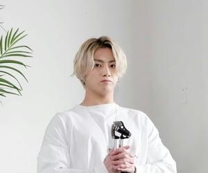 blond hair, jk, and bangtan image