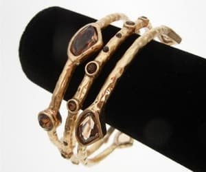 etsy, gold bracelet, and designer jewelry image