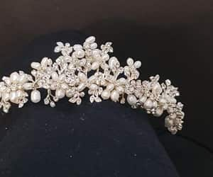 hair accessories, wedding headpiece, and wedding hair piece image