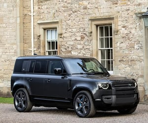 defender, SUV, and land rover image
