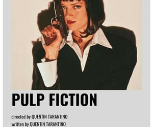film, pulp fiction, and quentin tarantino image