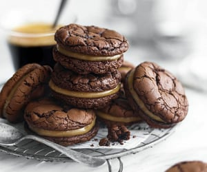cafe, chocolate, and comida image