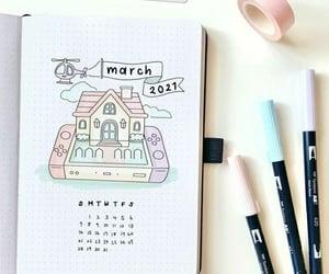 calendar, bujo, and inspiration image