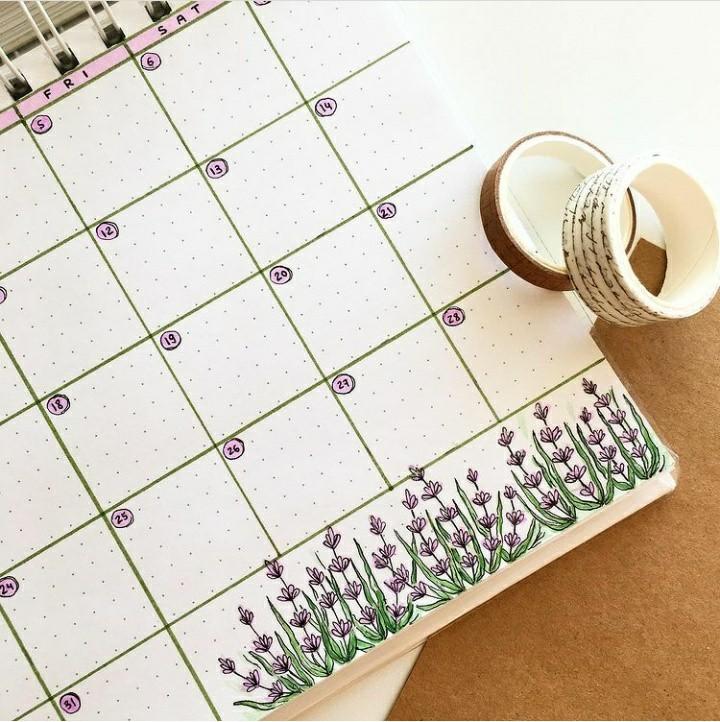 calendar, inspiration, and planner image