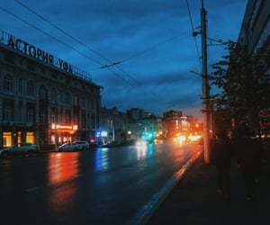 autumn, russia, and street image