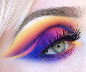 colorful, look, and tutorial image