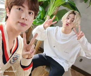 jin, jungkook, and kim seokjin image