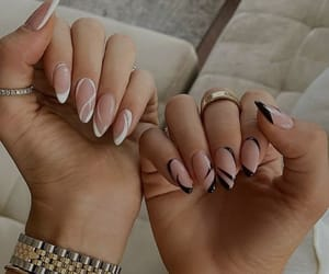 details, nails, and fashion image