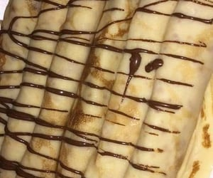 chocolat, crepes, and sweet image