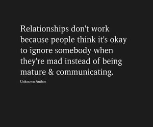 communication, talking, and couple quotes image