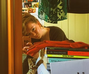 books, Effy, and girl image