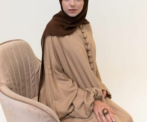 islam, modest, and dress image
