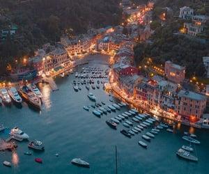 italy, boats, and vacation image