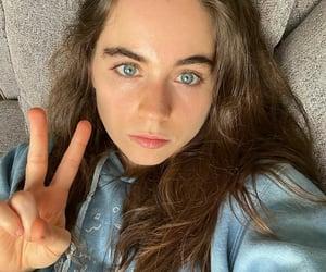 blue eyes, fashion, and girl image