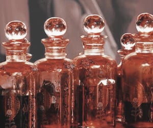 aesthetic, bottles, and red image