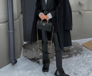 accessories, chic, and layers image