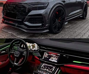 audi, q8, and awesome image