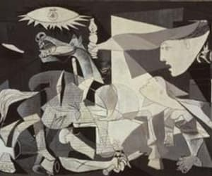 Guernica, short story, and pabblo picasso image