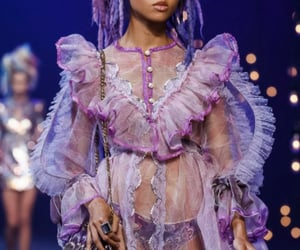 Couture, dreadlocks, and haute couture image