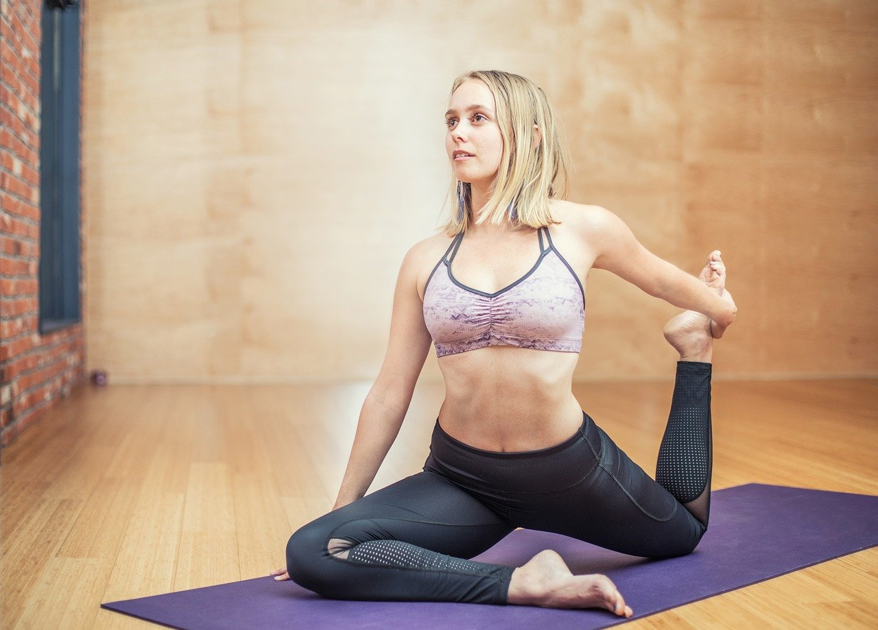 article, yoga for beginners, and yoga benefits image