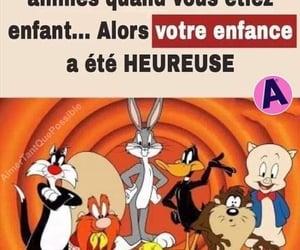 enfance, looney toons, and dessin animÉ image
