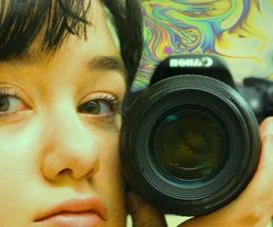 eye, photography, and psychedelic image
