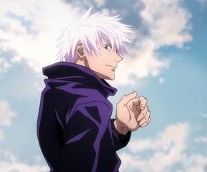 aesthetic, anime, and blue eyes image