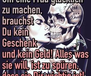 couple, glücklich, and spruch image