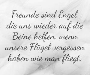 deutsch, engel, and freundschaft image