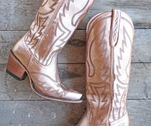 boot, cowboy, and Cowgirl image