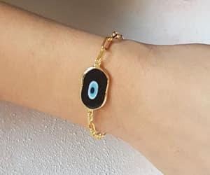 etsy, birthday gift, and evil eye bracelet image
