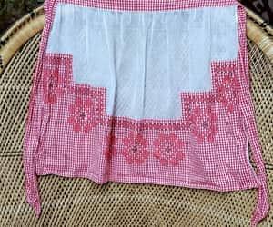 housewarming gift, etsy, and vintage apron image