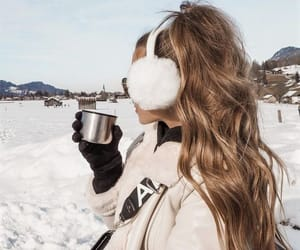 chill, cozy, and earmuffs image