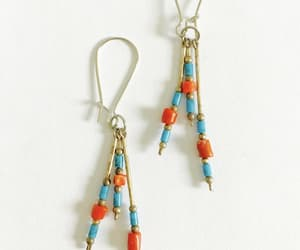 sterling silver, dangle earrings, and estate jewelry image