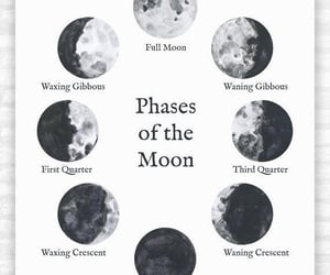 moon, moon phases, and cycles image
