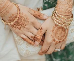 bag, bangles, and hands image
