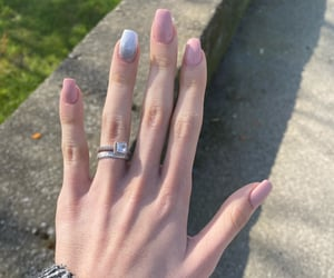 nails, pinknails, and pink image