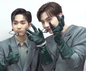 aron, minhyun, and nuest image