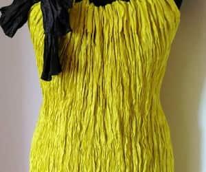 etsy, handmade dress, and sleeveless dress image
