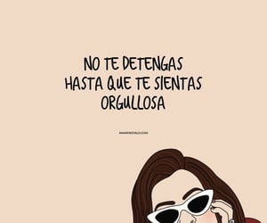 mujer, proud, and quotes image
