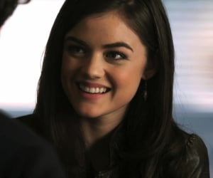 aria, pll, and aria montgomery image