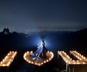 couple, lamps, and lights image