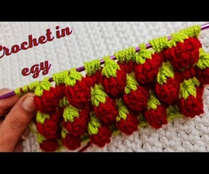 crochet, stitch, and video image
