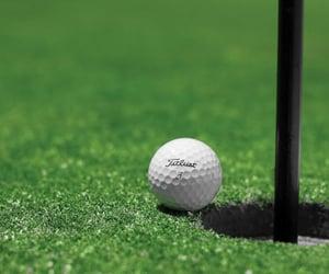 golf ball, golf, and sport image