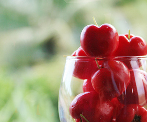 red, cherry, and cute image