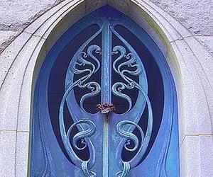blue, door, and blue door image