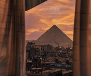 egypt and sunset image