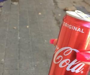 drink, coca-cola, and cocacola image