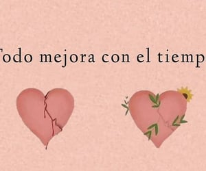 amor, corazones, and frases image